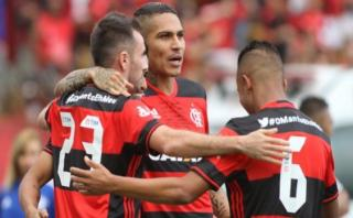 Sin Guerrero: Flamengo igualó 0-0 ante Atlético PR en Baixada