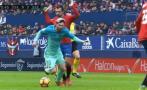 Lionel Messi y el 'piscinazo' que reconoció en pleno partido
