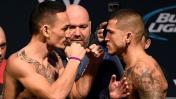 UFC: Max Holloway venció a Anthony Pettis y es campeón interino