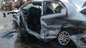 SMP: siete heridos por aparatoso choque en Panamericana Norte