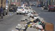 Alrededores de Gamarra aún lucen con cúmulos de basura