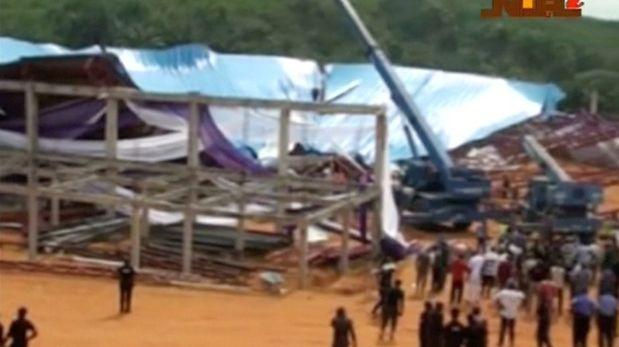 Nigeria: Techo de iglesia se derrumba y mata a 60 personas