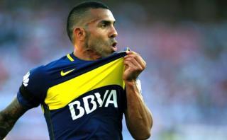 Boca Juniors: Tevez peleó balón y marcó tras error del arquero