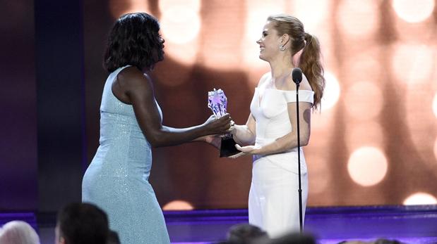Viola Davis recibe el premio honorífico
