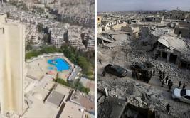 [BBC] Siria: Alepo, una ciudad con dos realidades
