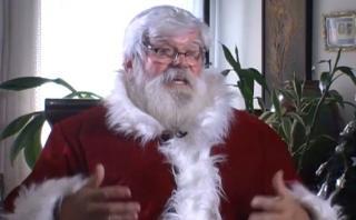 El Papá Noel que lleva 27 años recorriendo Lima [VIDEO]