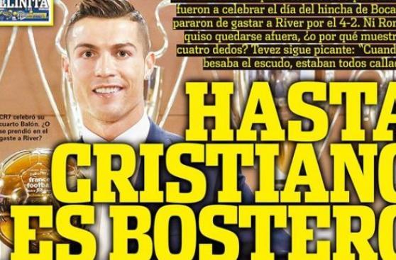 Cristiano Ronaldo: Olé ironizó con cuarto Balón de Oro del luso