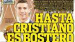 Cristiano Ronaldo: Olé ironizó con cuarto Balón de Oro del luso - Noticias de la bombonera