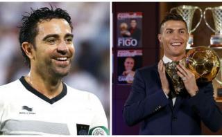 Xavi y su opinión de por qué Cristiano ganó el Balón de Oro