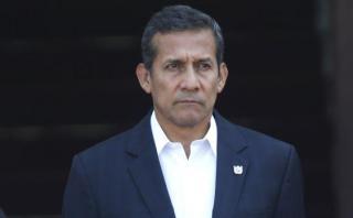 Sala confirma comparecencia restringida para Ollanta Humala
