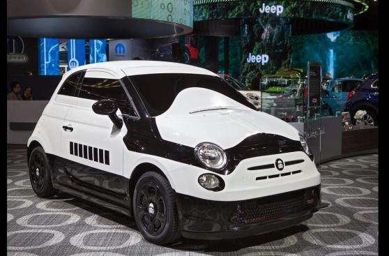 10 increíbles autos personalizados al estilo Star Wars