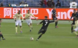 El impresionante 'misil' de Cristiano Ronaldo ante el América