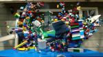 YouTube: una ciudad de Lego destruida en cámara súper lenta - Noticias de guason