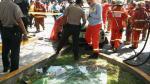 Surco: así quedaron los vehículos tras accidente mortal - Noticias de chery