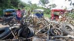 Desbloquean parcialmente carretera Fernando Belaunde Terry - Noticias de martin caceres