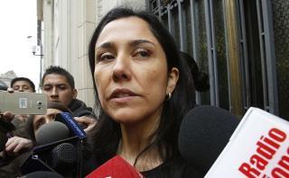 Nadine Heredia: Poder Judicial verá su apelación el martes 20