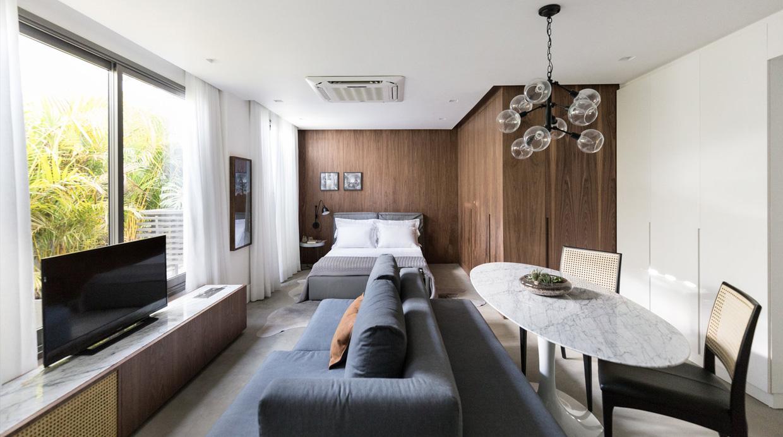 El peque o departamento que muestra lo genial de vivir en for Vivir en 40 metros cuadrados