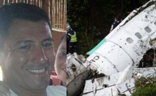 Chapecoense: Bombero peruano es condecorado por su labor