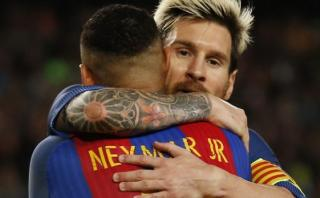 Neymar revela cómo Lionel Messi salvó su carrera en Barcelona