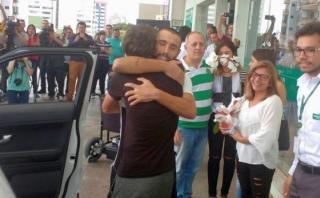 Chapecoense: Ruschel, primer jugador en recibir alta médica