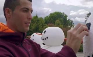 Cristiano y su gol más surrealista en vísperas navideñas