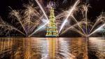 ¿Por qué este gigantesco árbol de Navidad divide a un país? - Noticias de cocodrilo gigante