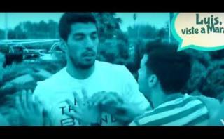 Luis Suárez se olvidó del fútbol para aparecer en video musical