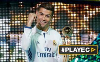 Cristiano Ronaldo elegido Balón de Oro del Mundial de Clubes