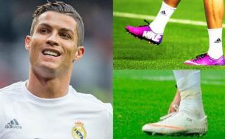 Cristiano Ronaldo y la razón por la que no usa chimpunes negros