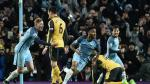Manchester City ganó 2-1 a Arsenal en Etihad por Premier League - Noticias de theo walcott