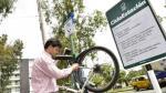 San Isidro: instalan estaciones de reparación de bicicletas - Noticias de municipalidad de arequipa