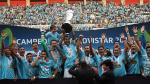Sporting Cristal: postales del festejo celeste en el Nacional - Noticias de henry gambetta