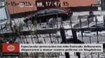 Magdalena: intensa balacera entre policía y hampones [VIDEO] - Noticias de videovigilancia
