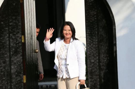Las postales del encuentro entre PPK y Keiko Fujimori