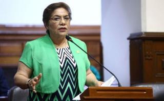 La denuncia contra la presidenta del Congreso, Luz Salgado, por la presunta compra irregular de computadoras fue archivada. (Foto: Congreso)