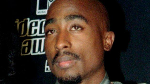 Tupac Shakur en una gala de los MTV Music Awards en el año 1996. (Foto: Reuters)
