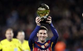 """Barcelona: """"Messi debería ganar cada año el Balón de Oro"""""""