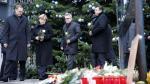 Merkel visitó mercado navideño en Berlín tras masacre [FOTOS] - Noticias de thomas peter