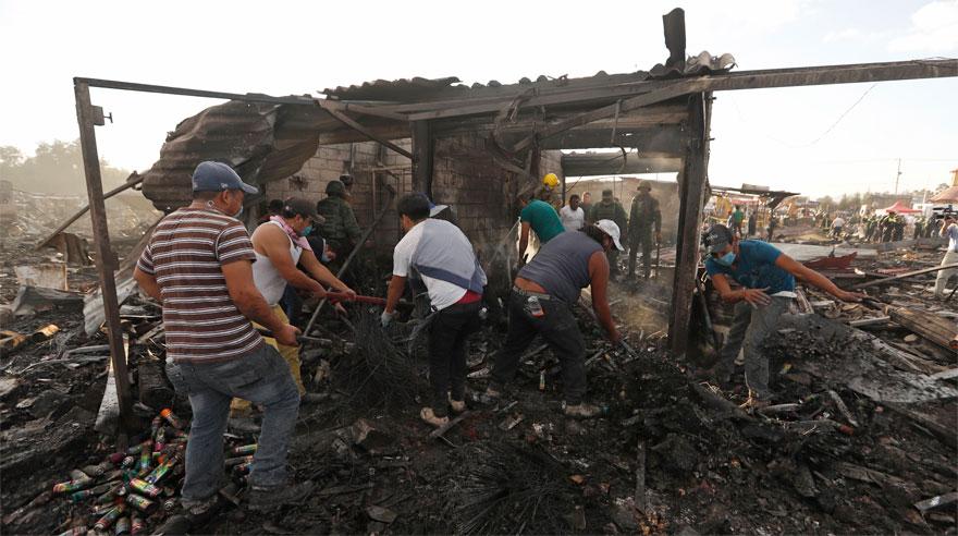México: El mercado de pirotécnicos tras la tragedia