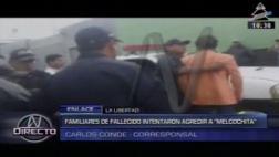 Melcochita: familia de víctima de accidente intentó golpearlo