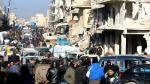 Rusia, Irán y Turquía declaran unidad por la paz en Siria - Noticias de mohammad javad zarif