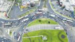 Óvalo Monitor: by-pass está suspendido [Vista desde un DRON] - Noticias de obras vía expresa