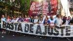 Argentinos repudian a Macri en marcha por rebelión de 2001 - Noticias de mauricio rua