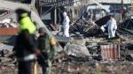 México: La angustia de buscar familiares entre cuerpos quemados - Noticias de federico martinez