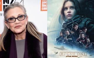 """Carrie Fisher y el homenaje que le hizo """"Rogue One"""""""