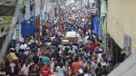 El caos por los ambulantes en Mesa Redonda y Gamarra en fiestas - Noticias de emporio comercial gamarra