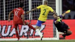 Ruidíaz y el gol con la mano a Brasil que gritó todo el Perú