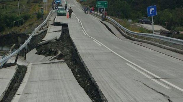 Preciso momento del terremoto de 7,7 en Chile [VIDEOS]