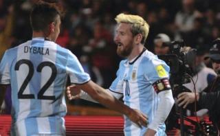 Gonzalo Higuaín elogió a Dybala y lo comparó con Lionel Messi