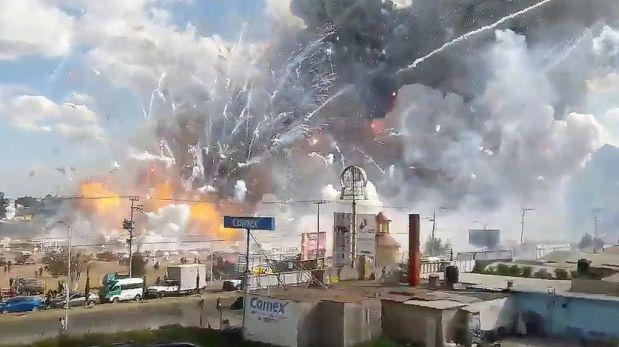 México: Suben a 36 los fallecidos por explosiones de pirotecnia en ...